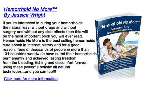 hemorrhoids no more natural treatments